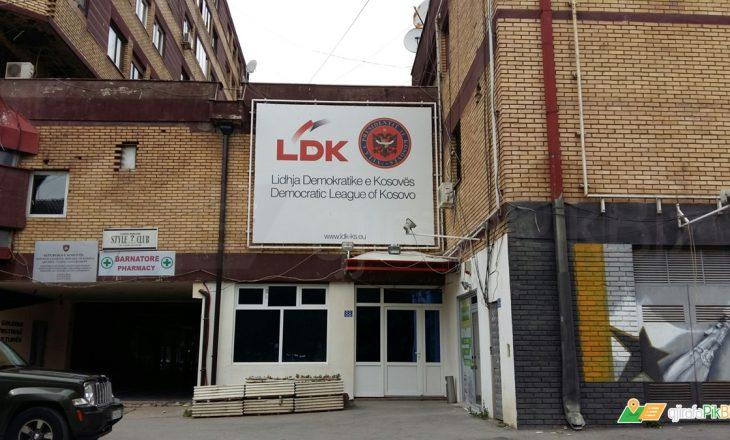 LDK thërret konferencë për media
