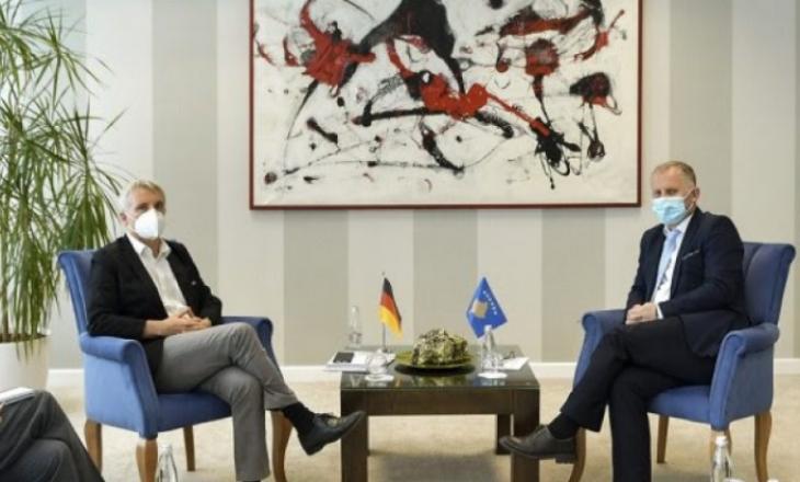 Gjermania do të vazhdojë ta përkrah Kosovën në rrafshin ndërkombëtar