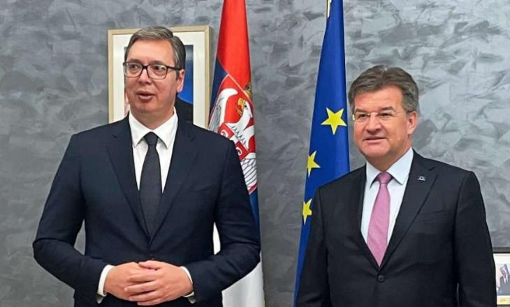 Lajçak takohet me Vuçiqin