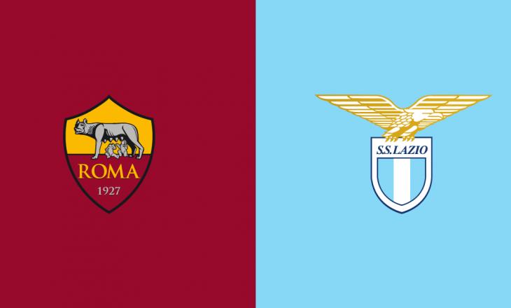 Formacionet zyrtare të derbit lokal Roma vs Lazio, Muriqi fillon ndeshjen nga minuta e parë