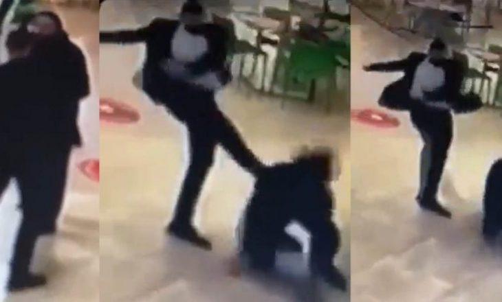 """Ndalohet roja që rrahi qytetarin në një qendër tregtare """"Albi Mall"""""""