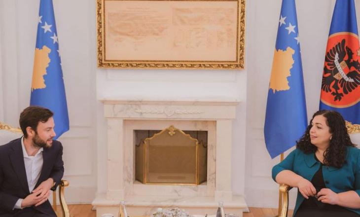 Presidentja Osmani u takua me përfaqësuesit e fondacionit Heinrich Boell Stiftung