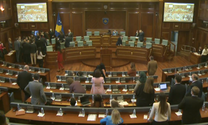 Përplasje midis deputetëve të PDK-së dhe LVV-së në Kuvend (VIDEO)