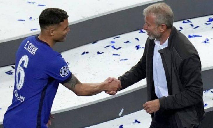 Thiago Silva arrin marrëveshje të re me Chelsean