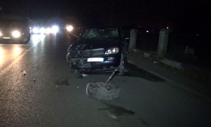 Aksident në Podujevë, lëndohen pesë persona