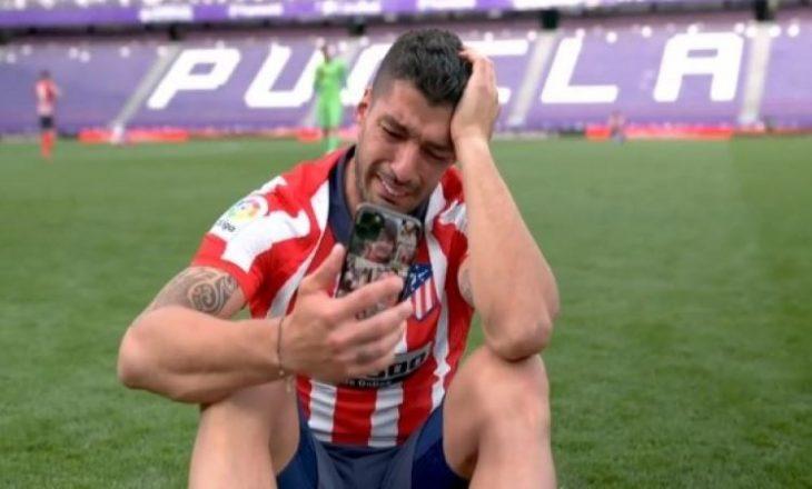 Pas triumfit me Atleticon në La Liga, nuk i mbante lotët Suarez