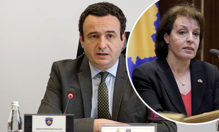 Kurti thotë se është pajtuar me Gërvallën për lirimin nga detyra të 12 ambasadorëve