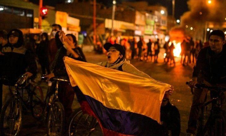 Katër persona kanë humbur jetën nga protestat kundër qeverisë kolumbiane