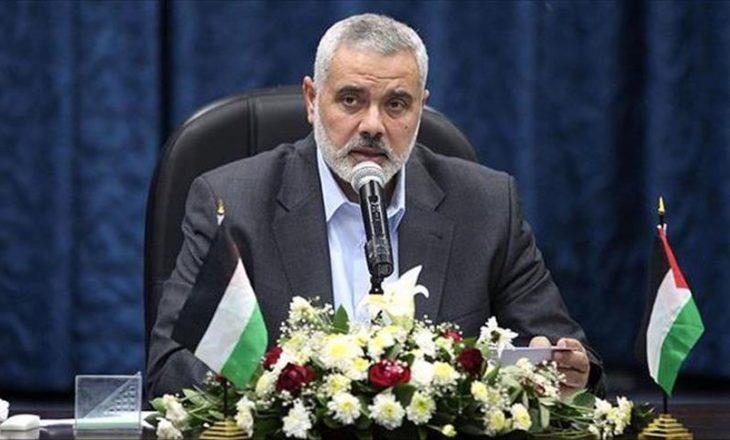 Udhëheqësi i Hamasit, Haniyeh: Sulmet izraelite zbulojnë dobësinë dhe dështimin e armikut dhe dilemën me të cilën përballet për shkak të rezistencës së madhe
