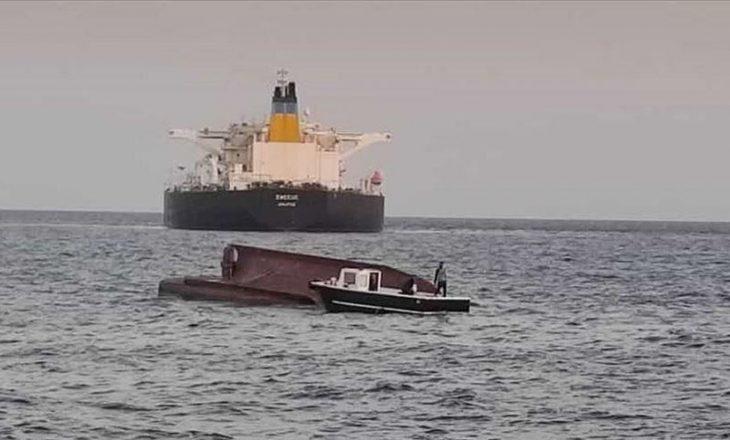 Nga përplasja mes anijes së mallrave dhe asaj të peshkimit, tre anëtarë të ekupiazhit kanë humbur jetën