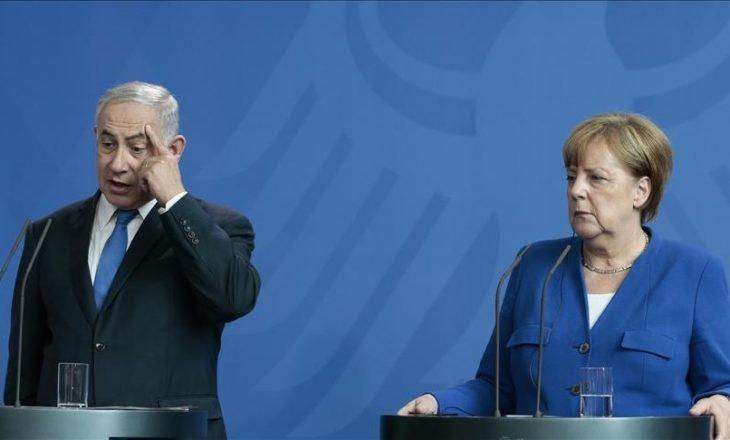 Zëdhënësi i kancelares Merkel: Kancelarja afirmoi të drejtën e Izraelit për t'u mbrojtur nga sulmet palestineze