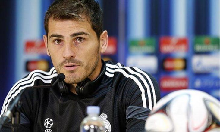 Iker Casillas i shfaqen përsëri problemet me zemër