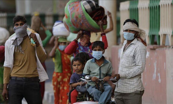 India raporton mbi 400 mijë raste të reja me Coronavirus në 24 orët e fundit