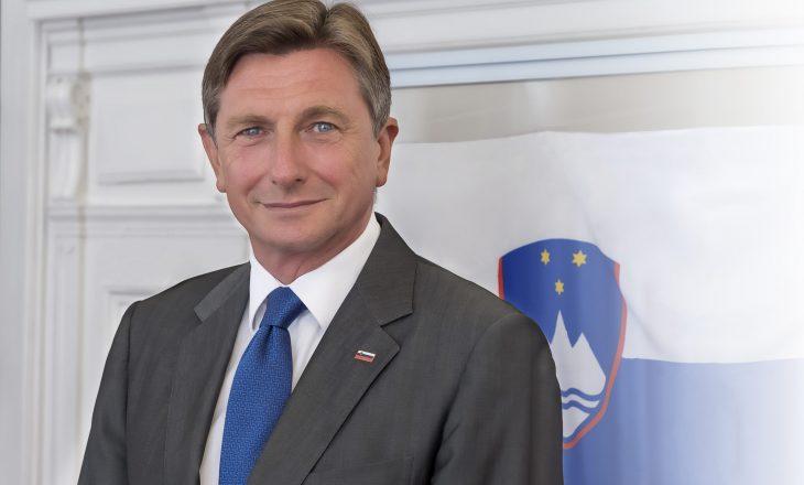 Presidenti slloven nesër vjen në Prishtinë dhe takohet me Vjosa Osmanin
