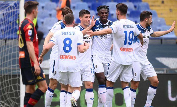 Serie A: Atalanta mposht Genoan, Spezia fiton sfidën e mbijetesës kundër Torinos