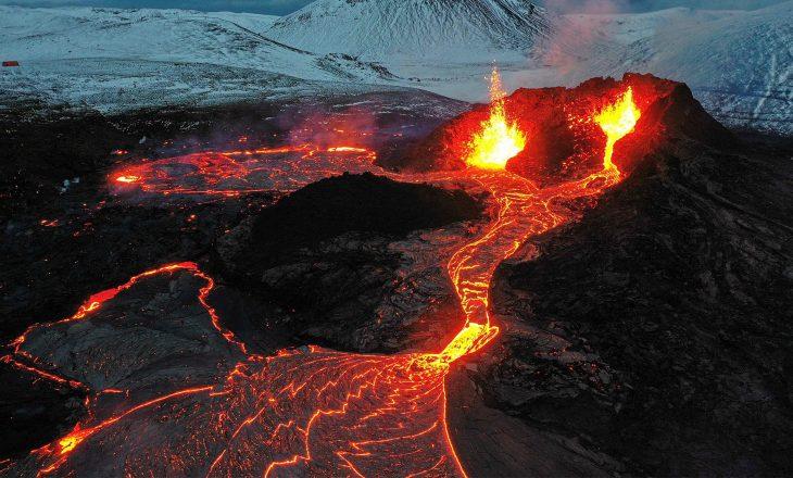 Vullkani që shpërtheu në Islandë po tërheq turistë nga e gjithë bota