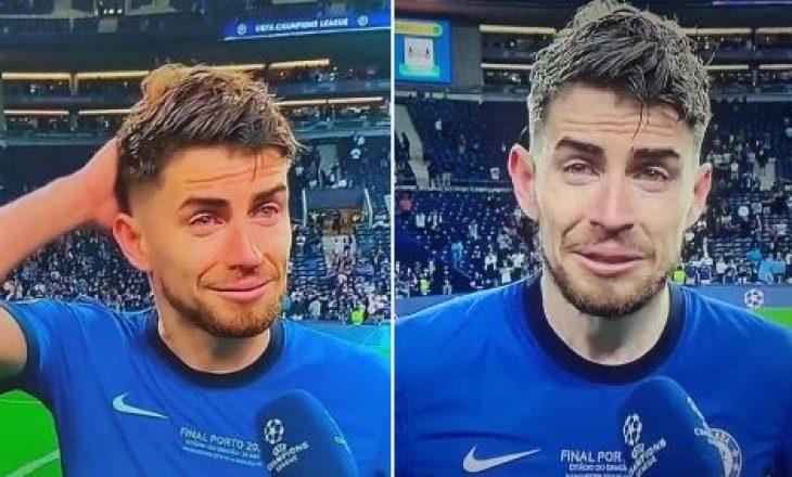 Jorginho i përlotur pas triumfit në Champions: Nuk besoja, po dridhesha