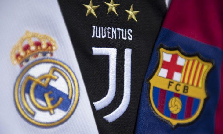 """Mediat në Itali: UEFA ka marrë vendim për Realin, Barcelonën dhe Juventuesin në rastin e """"Super Ligës"""""""