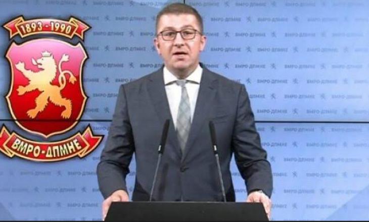 Mickoski sërish premton shumicë të re parlamentare