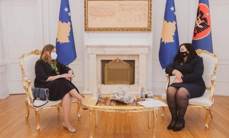 Osmani priti në takim drejtoreshën rajonale të Bankës Botërore për Ballkanin Perendimor