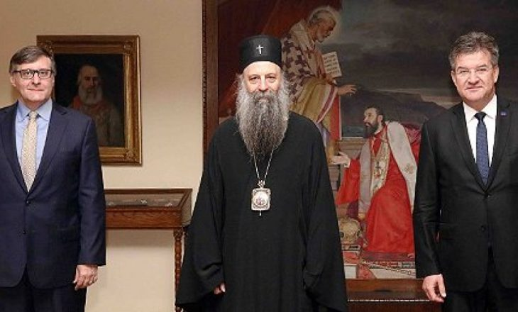 """""""Kosova për ne është si Jerusalemi për hebrenjtë"""", kleriku serb flet pas takimit me Lajçakun dhe Palmerin"""