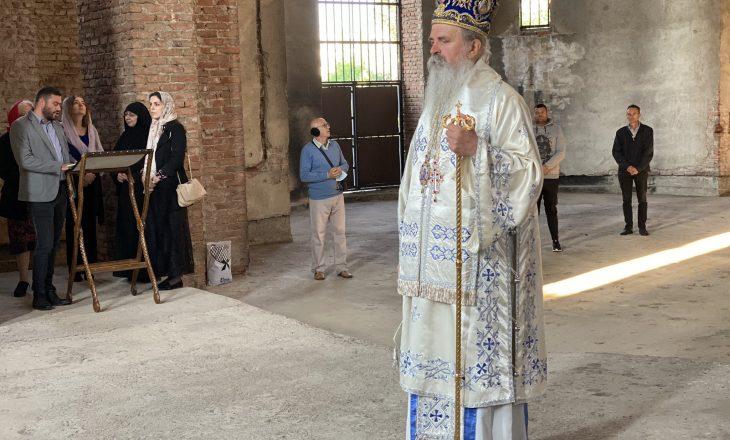 Liturgjia në Kishën Ortodokse Serbe, Çeku: Policia e painformuar, u shkelën rregullat e sigurisë publike