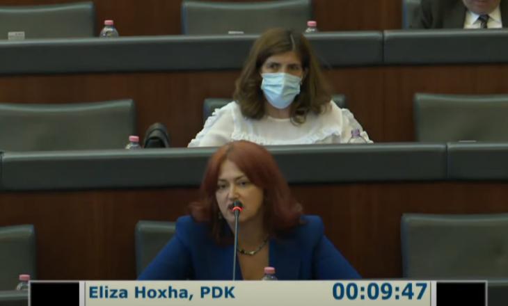Hoxha: Po kërcënohem nga një anëtar i sapozgjedhur i KSHC-së