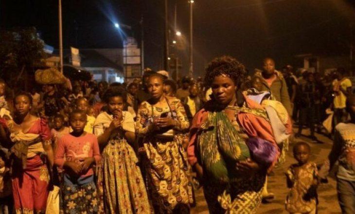 Qindra fëmijë të zhdukur pas shpërthimit të vullkanit në Kongo