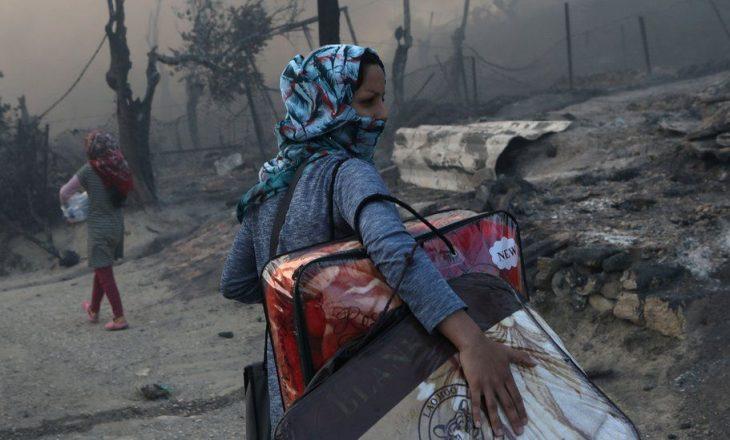 Zjarri në kampin e migrantëve Moria: Katër afganë dënohen me nga 10 vjet burg