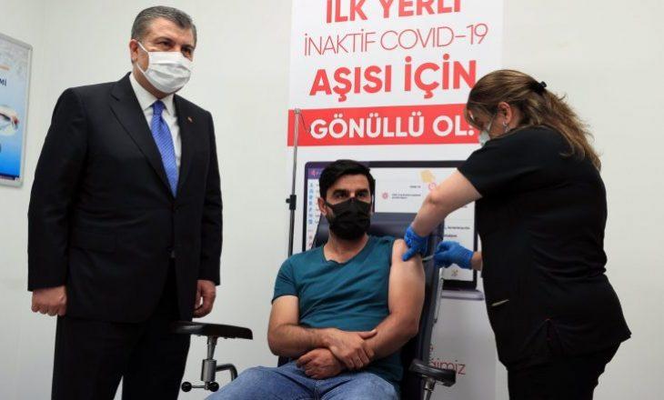 Erdogani ka njoftuar se vaksina turke kundër Coronavirusit do të quhet Turkovac