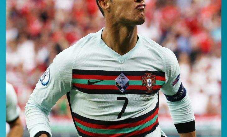 Portugalia fiton me rezultat të thellë përball Hungarisë