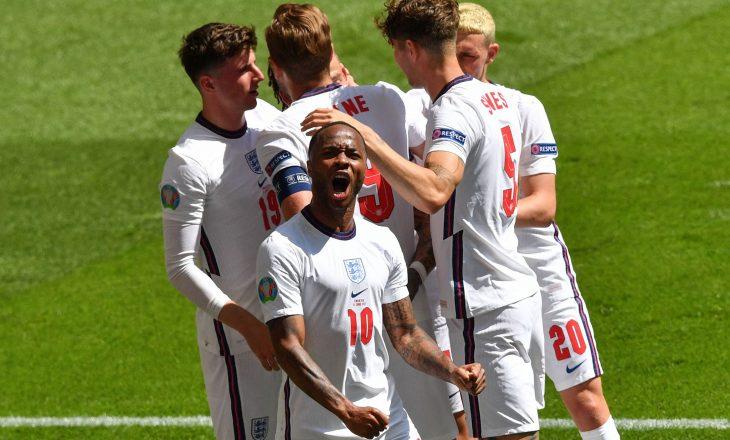 Anglia siguron fitoren e parë në këtë kampionat përball Kroacisë