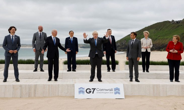 G7 do të dhurojë 1 miliardë doza vaksina anti-COVID për vendet e varfra
