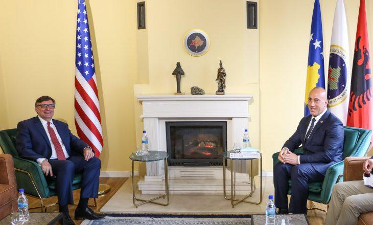 Haradinaj takon Palmer, ripërsërit se roli i SHBA-së në dialog është i domosdoshëm