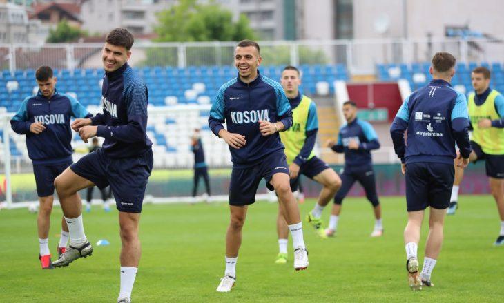 Kosovë U21 – Andorra U21: Formacionet zyrtare