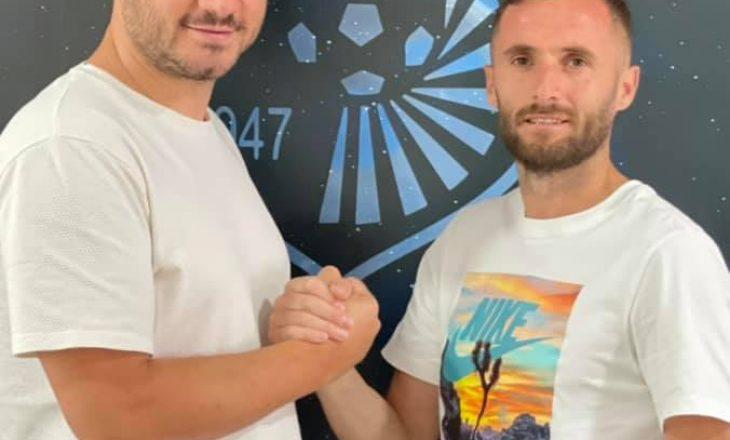 Astrit Fazliu vazhdon kontratën me Dritën