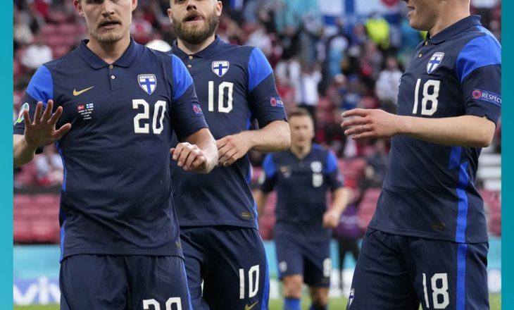 Finlanda fitore historike përballë Danimarkës