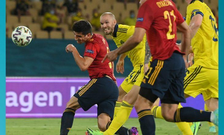 Përfundon pa gola ndeshja mes Spanjës dhe Suedisë