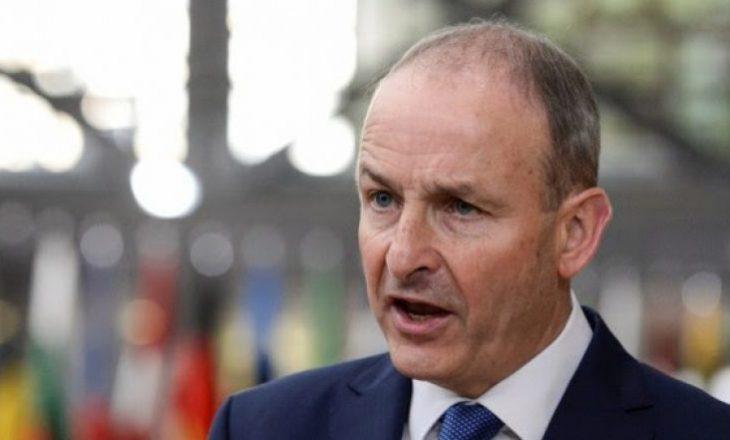 Kurti pranon urime nga kryeministri i Irlandës