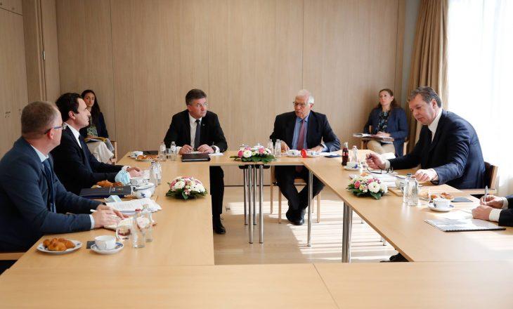 Nis takimi Kurti-Vuçiq në Bruksel