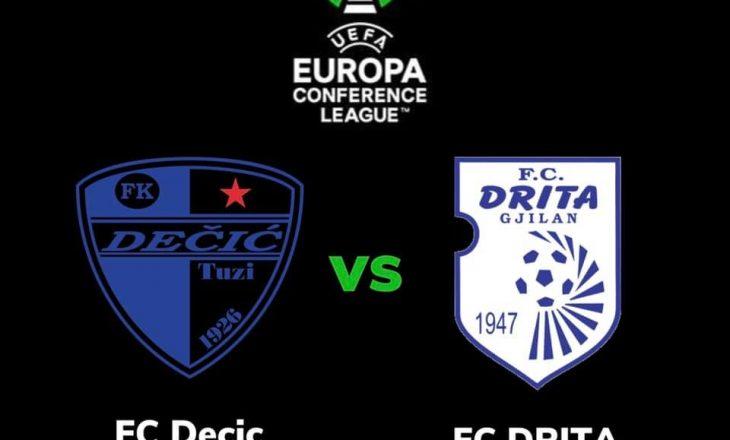 Drita përball ekipit nga Mali i Zi për UEFA Conferenc Cup