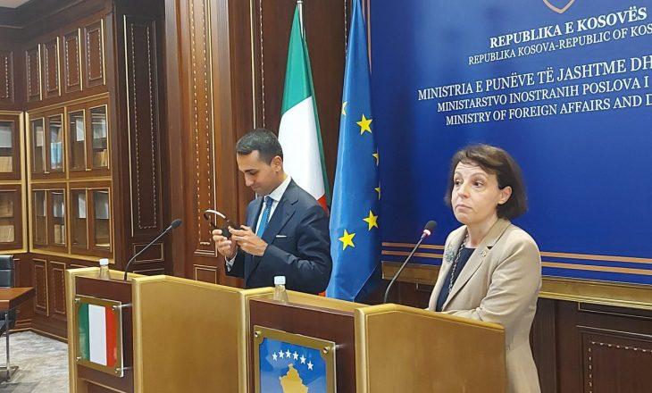 Ministri i Jashtëm italian: Kosova ka mbështetjen e Italisë në dialog me Serbinë
