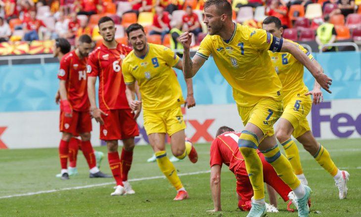 """Ukraina shënon fitore të """"vëshirë"""" përball Maqedonisë"""