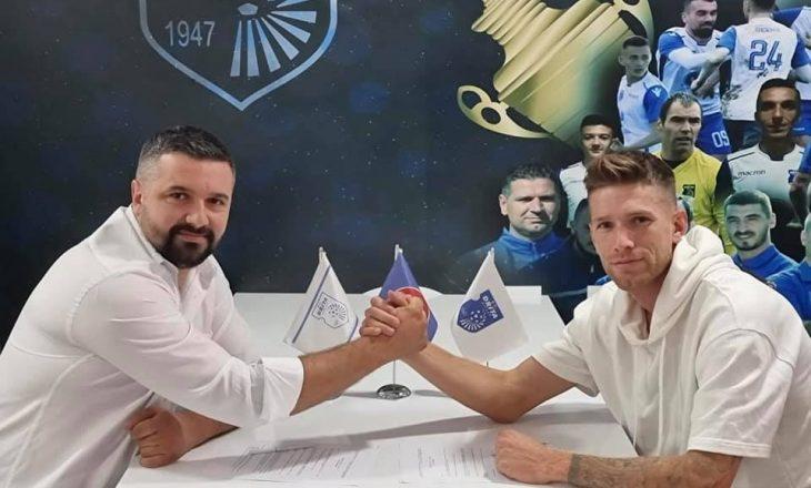 Drita zyrtarizon transferimin e Marko Simonovskin