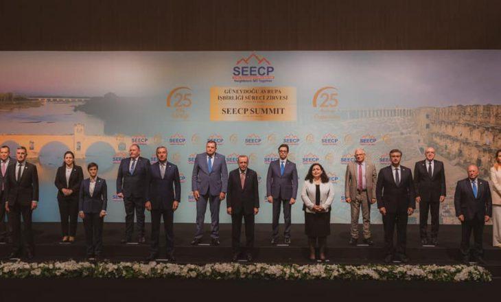 Osmani nga Turqia bën thirrje për njohjen e pavarësisë së Kosovës dhe liberalizim të vizave