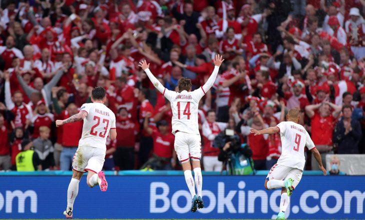 Danimarka fiton thellësisht ndaj Rusisë, siguron kalimin tutje