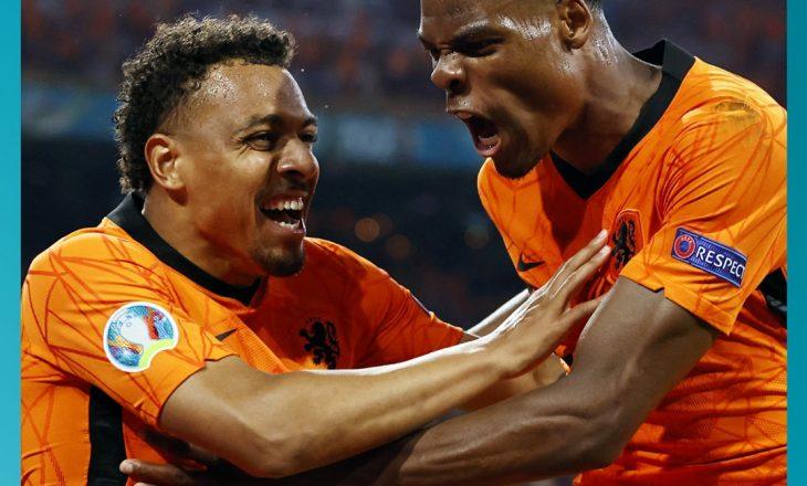 Holanda shënon fitore ndaj Austrisë, fitore që eleminon Maqedoninë