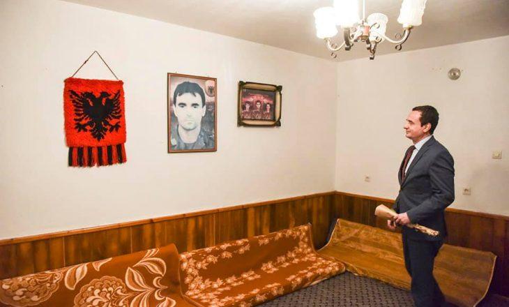 Kurti viziton odën në të cilën Zahir Pajaziti i bënte planet për çlirimin e Kosovës