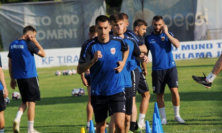 SS Folgore – FC Prishtina: Formacionet zyrtare