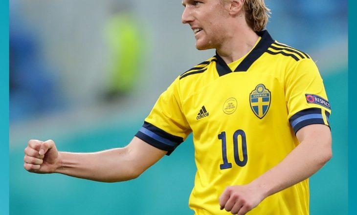 LIVE: Suedia arrinë fitore krejt në fund kundër Polonisë
